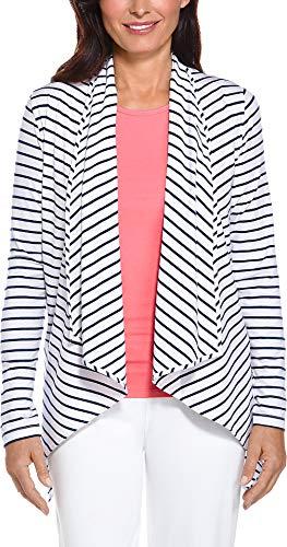 Coolibar Veste pour Femme Protection UV 50+ XL Blanc - Blanc