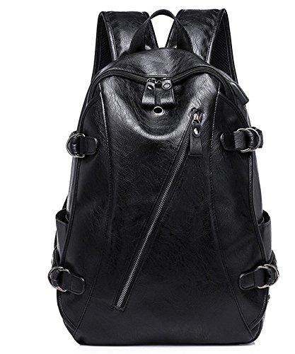 beibao shop Backpack Sacs à Dos pour Ordinateur Portable Affaires Loisirs PU Chargement USB Épaule Extérieur Voyager Multi-Fonctionnel Sac à Dos d'ordinateur