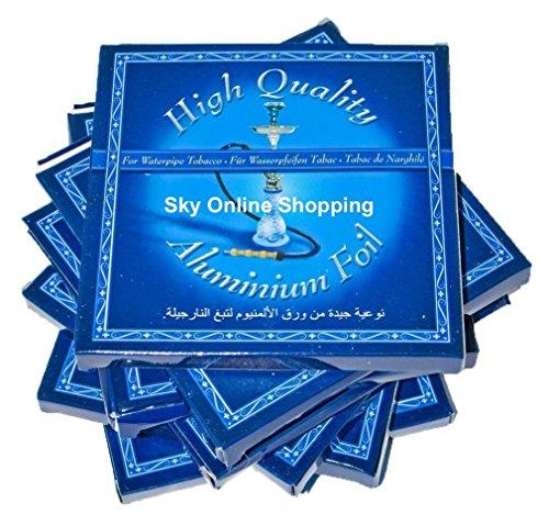 Hochwertige Aluminiumfolien für Shisha Nargila Shisha Folie rund