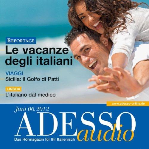 ADESSO Audio - L'italiano del medico. 6/2012 audiobook cover art