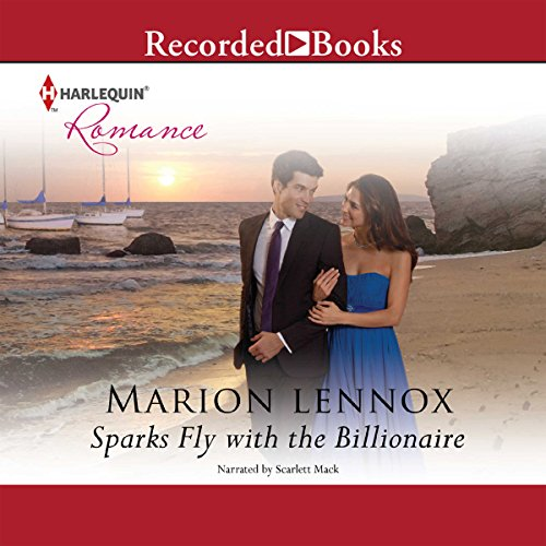Sparks Fly with the Billionaire audiobook cover art