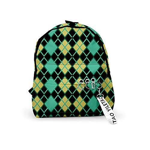 Tier Tom Nook Isabelle Schulrucksack Studententasche Laptop Rucksack Casual Travelling Daypack für Teen Trekking Rucksack