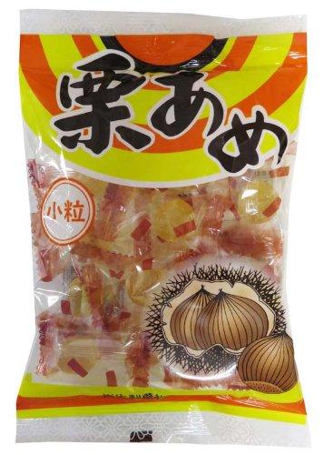 岩佐製菓 小粒栗あめ 80g×10袋