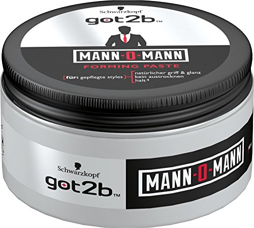 got2b Mann-O-Mann Tiegel, 4er Pack (4 x 100 ml)