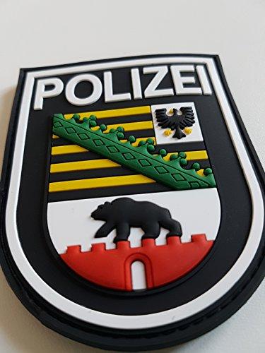 ATG Ärmelabzeichen Polizei Sachsen-Anhalt 3 D Rubber Patch (Farbig)