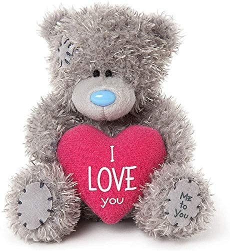 Me To You AP401002 MTY 11cm Bärchen mit Herz I Love You