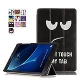 Funda para Samsung Galaxy Tab A6 10.1 2016 - Funda de PU Cuero Tablet Samsung Tab A6 10.1 T580 Book Cover para SM-T580