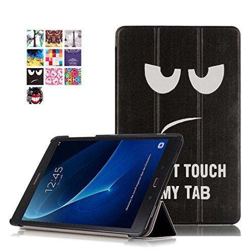 Samsung Galaxy Tab A6 10.1 Cover - DETUOSI Ultra Slim PU in Pelle Custodia per Samsung Galaxy Tab A 10.1' (SM-T580 / T585) Tablet, Galaxy Tab A6 10.1 Copertura protettiva con Supporto