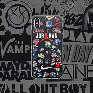 Supreme21 AJ Jordan 23 Basketball Team Soft Case iPhone X XR XS MAX 6 7 8 Plus (for iPhone 8 Plus)
