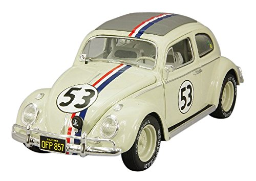 Hotwheels - Mattel - BLY22 - Elite - Volkswagen - Beetle - Herbie Goes To Monte Carlo - Échelle 1/18
