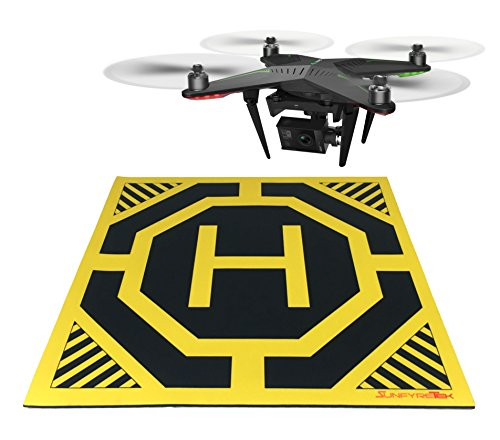 XL Drone, Quadcopter Landing Pad - 22' x 22' - Highly...