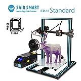 SainSmart x Creality CR-10 Halb zusammengesetzter Aluminium 3D-Drucker mit Extra-Filament, große Druckgröße 300 x 300 x 400mm