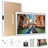 Tablets 10 inch, Android 9.0 Pie, 64GB ROM 4GB RAM, Quad-Core, Dual Cameras