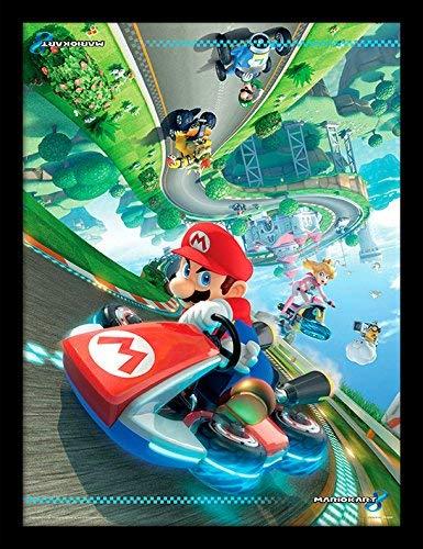 puissant Mario Kart 8 Flapper Frame Print – Combinaison Taille: 36 x 46 cm (14 x 18 pouces) Imprimer…