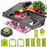 Best Vegetable Slicers - Vegetable Chopper Dicer, ENUOSUMA 8 in 1 Onion Review