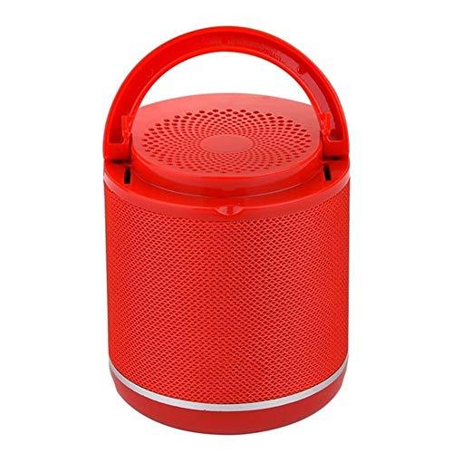 XFSE Roter beweglicher Bluetooth Lautsprecher Halter und eine Mini-Subwoofer drahtloser Outdoor-Stoff Parlante 6 Farbe TF-Karte US $ Datenträger