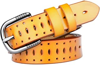 Cinghie Fitness DYCHUN Cintura da Donna Cinture Moda Donna Cintura Elastica in Vera Pelle con Jeans di Marca Abito da Donna di Alta qualità Cinghie Ceinture Femme