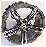 1 AC-MB3 Llantas de Aleación NAD 8 18 5X120 30 72,6 Compatible Con BMW Serie 3 4 5 6 X1 X3 X4 Antracita Pulido Diamante