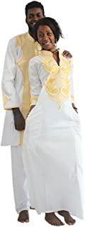 فستان زفاف طويل تقليدي للنساء من Dashiki عالي الجودة بنمط إفريقي