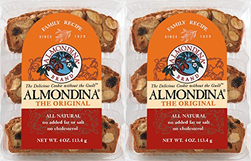Almondina Biscuits, Original, 4 ounce, 2 pack