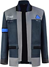 VOSTE Become Human Jacket Halloween Connor Cosplay Costume Full Set Coat for Men