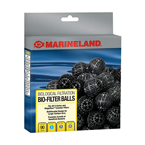 Marineland Bio-Filter Balls, Supports Biological aquarium Filtration, Fits All C-Series Canister...