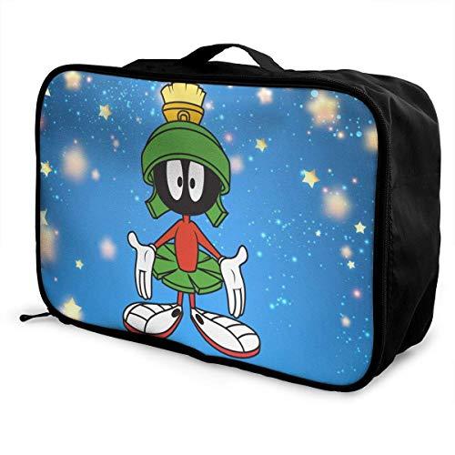 Marvin-Martian Folle Reisetasche Carryon Lage Weekend Tote Bag Lage Tasche