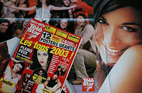 Télé Star Hors-série 17 * 2003 03 * JENIFER * Les tops 2003 12 posters géants