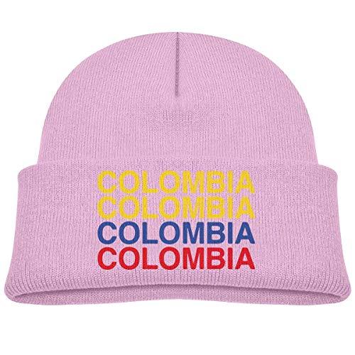 Quintion Robeson Colombia Niño Bebé Niñas Niños Gorros Sombrero Gorro de Punto Gorro