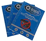 Qtraps Extra Large 12' X 6' Mouse & Rat Trap – Non Toxic, No Touch, Sticky Glue Pads Catch, Kill & Contain Mice, Rats & Small Rodents & Pests – Boards are Safe for Indoor or Outside Use - Pack of 3