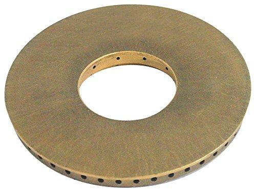 Palux Brennerdeckel für Gasherd 800163, 800171, 800198, 800201, 800228 mit Mittelloch ø 115mm Höhe 14mm Brennertyp E