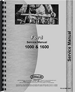 ford 1600 tractor manual
