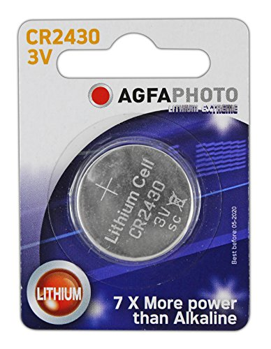 AgfaPhoto Batterien–Lithium-Knopfzelle CR24301Stück