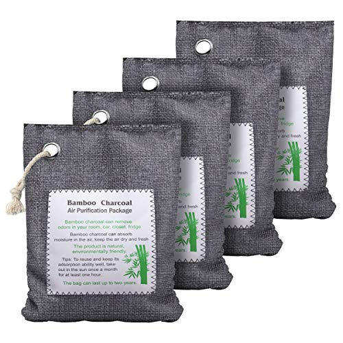 (50% OFF Coupon) Charcoal Odor Air Purification Bags 4Pk $13.49