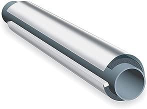 K-Flex USA NBR/PVC Based Elastomeric, Aluminum/Mylar Jacketing Pipe Insulation, 1
