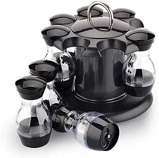 Toporchid Ménage de Stockage Multifonctionnel Rotatif d'assaisonnement de Support d'épice de Cuisine