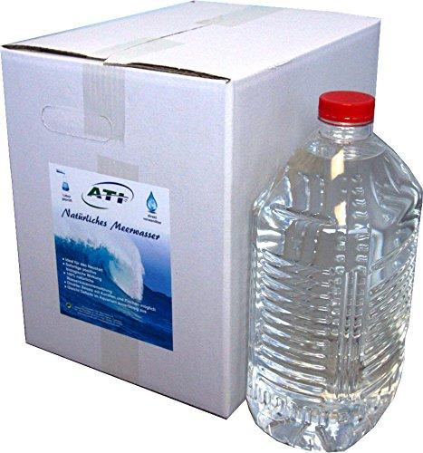 ATI natürliches Meerwasser 20 Liter mit sofort positiv biologischer Wirkung im Meerwasseraquarium