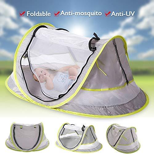 Guajave Baby Strand Zelten Baby Reise Bett Tragbar UV Schutz Zelt für Kleinkind Leicht Moskitonetz