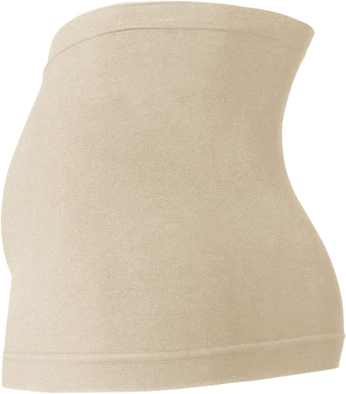 Aotifu Maternity Belt, Breathable Pregnancy Back Support, Premium Belly Band Lightweight Seamless Abdominal Binder