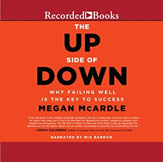 The Up Side of Down audiobook cover art