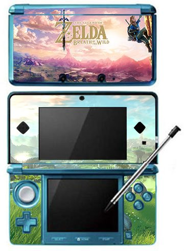 The Legend of Zelda: Breath of the Wild Game Skin for Nintendo 3DS Console 100% Satisfaction Guarantee!
