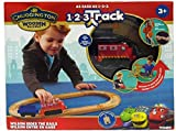 Wooden Train Set - Chuggington Wilson Rides The Rails Train Track Set, Easy to Assemble, The Ultimate Railway Toy for Toddlers - Tracks Fits Most Train Sets (1 Pack)