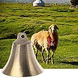 Youliy - Cloche de vache - Cheval - Cloche de mouton - Cloche de pâturage - Animal de ferme - Anti-perte - Cloche forte