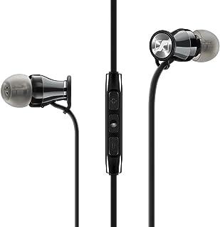 Sennheiser Momentum In-Ear - Auriculares (Alámbrico, Dentro de oído, Binaural, Intraaural, 15-22000 Hz, Negro, Cromo)