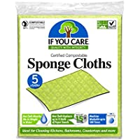 5-Count If You Care Cleaning Sponge Cloths