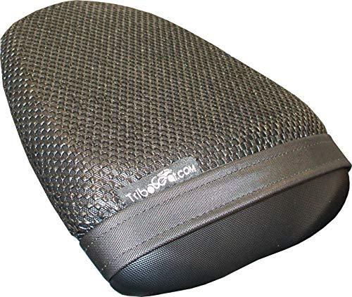 Cubierta TRIBOSEAT para Asiento Antideslizante Accesorio Personalizado Negro Compatible con Suzuki GSX-S 750 (2017-2019)