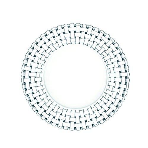 Spiegelau & Nachtmann, Brotteller/Untersetzer, 2 Stück, Größe: 15 cm, Kristallglas, Bossa Nova, 0098043-0
