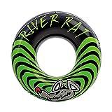 heavKin-Home Adult Lifebuoy Swimming Ring Underarm Floating Ring Diameter 122CM High Negative Force Handle (Green, 122cm)