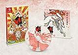 ESUNFON Nintendo Switch Okami Zekkeiban Sachi Shirabe plus Soundtrack CD Limited Edition