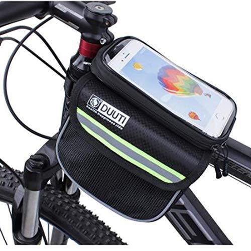 Das Meiste Temperament Radfahren wasserdichtes Obermaterial-Schlauch-Beutel-Handy-Beutel Mountainbike-Sattel-Beutel-einen.Kreislauf.durchmachenausrüstung Fahrrad Platzieren Sie das Brieftaschen-Make-u